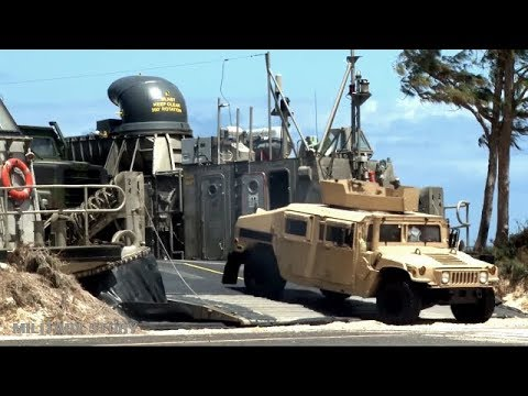 LCAC, Here's The Most Popular Navy Hovercraft That Takes Humvees From Aircraft