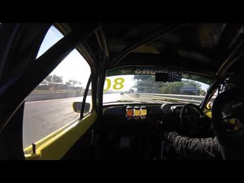 Simon Bulasch IPRA MK1 Escort Darwin Supercars Race 3 2017