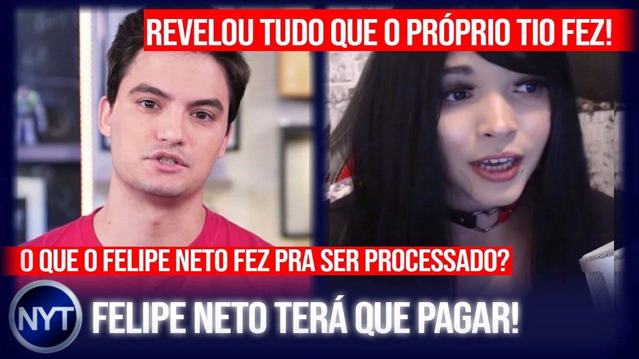 YouTuber revela que foi ABUS4D4 pelo próprio tio e choca web, Felipe Neto terá que pagar indenização