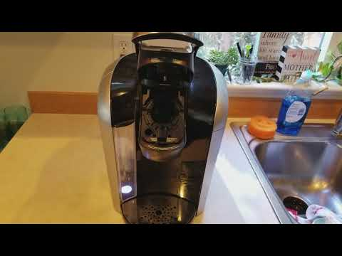 How to remove the keurig kcup holder from a keurig 2.0