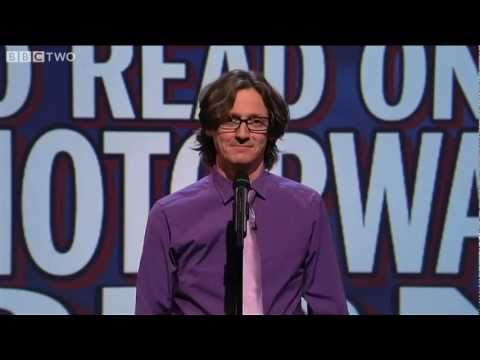 Unlikely Things To Read On A Motorway Sign - Mock The Week - Series 10 Episode 5 - BBC Two