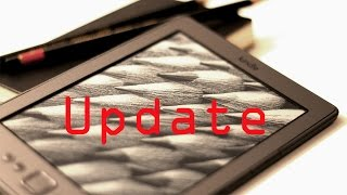 How to update/upgrade your Amazon Kindle 4th Generation E-Book Reader (ENGLISH)
