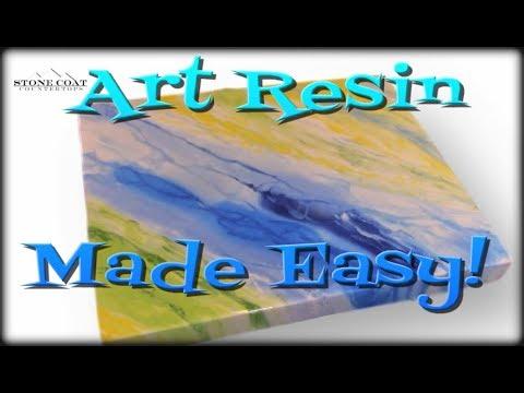 Resin Art Made Easy.