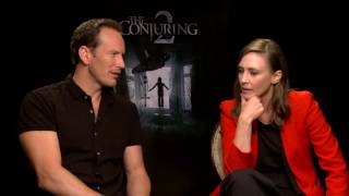 The Conjuring 2: Vera Farmiga & Patrick Wilson Official Movie Interview