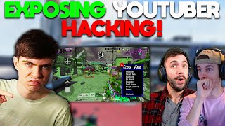 EXPOSING a HACKING YOUTUBER in COD Mobile... *WITH PROOF* (Ban him please CODM)