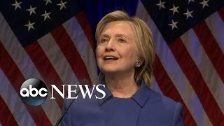 Hillary Clinton Speaks About Presidential Election Loss