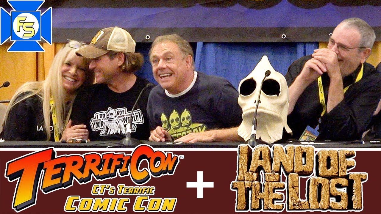 LAND OF THE LOST Cast and Writer Panel - Terrificon 2021