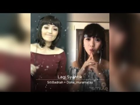 DUET SMULE SITI BADRIAH|LAGI SYANTIK