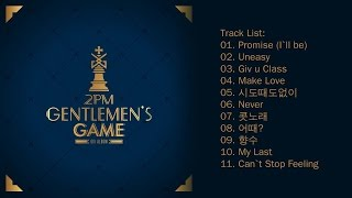 full album 2pm 투피엠 gentlemens game 6th album