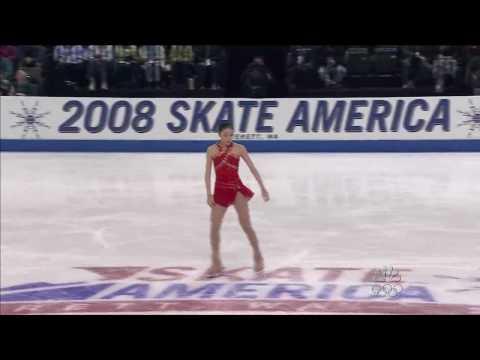 Yuna Kim 2008 Skate America FS ( 2010 Figure Skating Olympic Champion Queen Yuna )