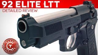 Full Beretta 92 Elite LTT Review Episode #64