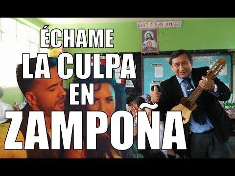 Luis Fonsi, Demi Lovato - Échame la culpa (Kramer Music Zampoña Cover)