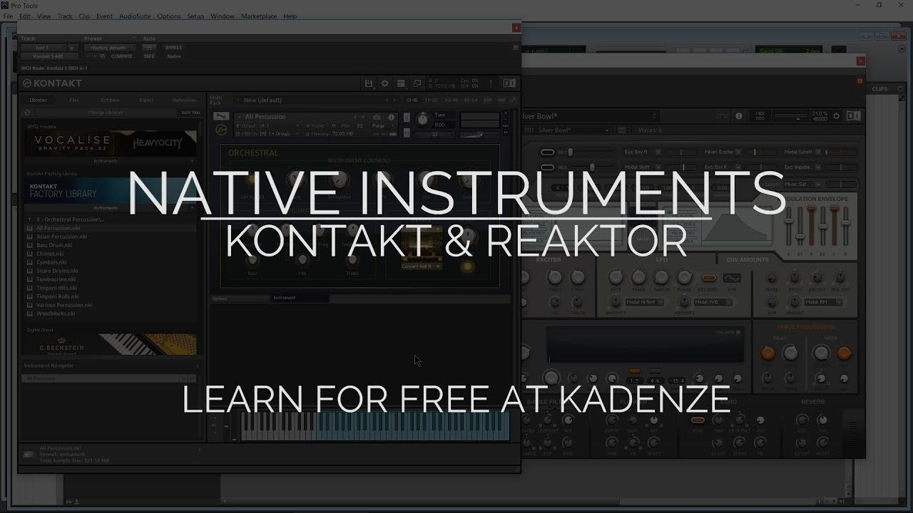 reaktor native instruments free
