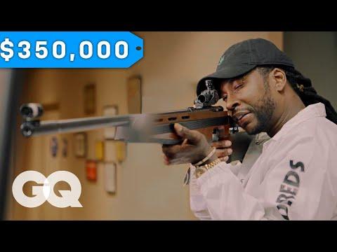 2 Chainz Checks Out a $350K Gun | Most Expensivest Shit | GQ