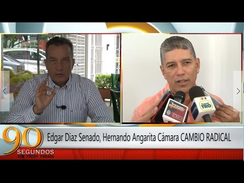 Edgar Diaz Senado, Hernando Angarita Cámara CAMBIO RADICAL