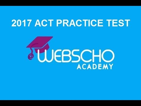 English Passage 1: 2016-2017 ACT Practice Test