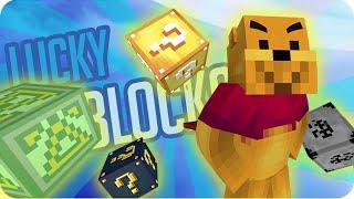 LUCKY BLOCKS: SOY UN SUPER HÉROE | Sara, Exo, Gona y Luh en Minecraft