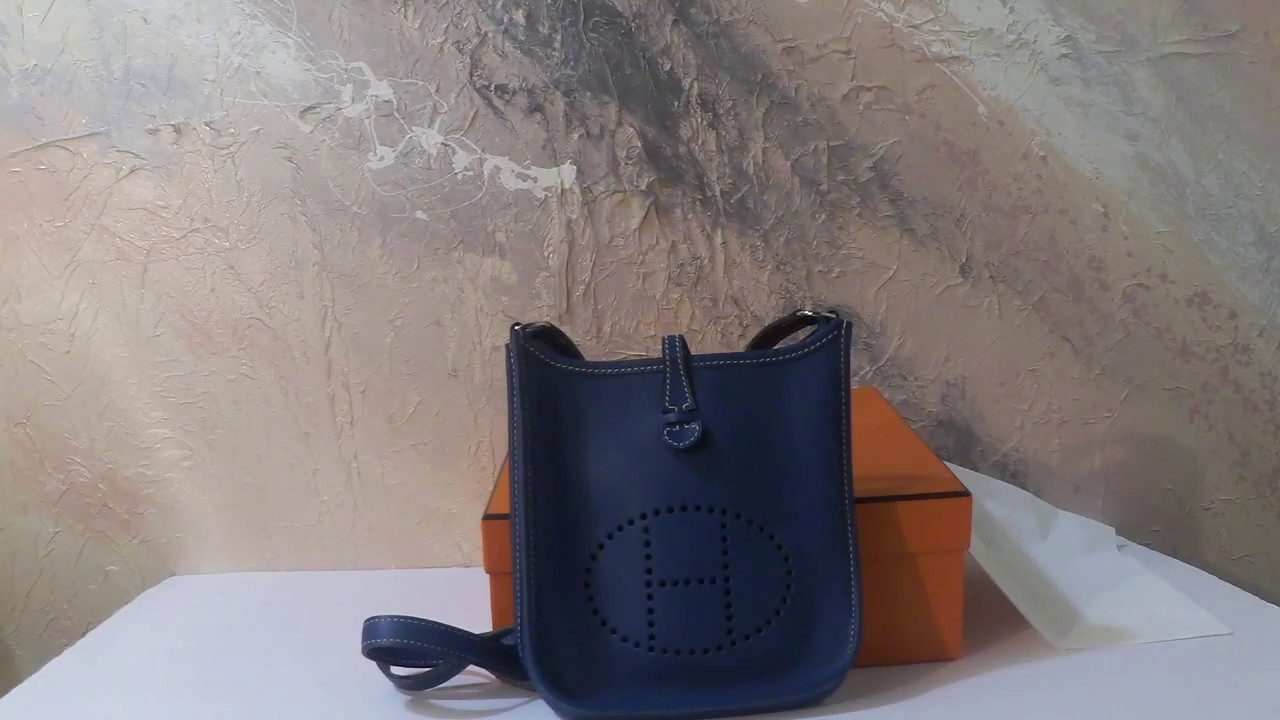 Bag Organizer Hermès Evelyne - YouTube