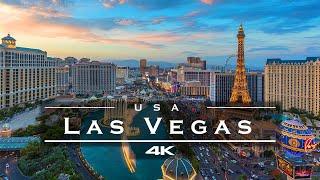 Las Vegas, USA 🇺🇸 - by drone [4K]