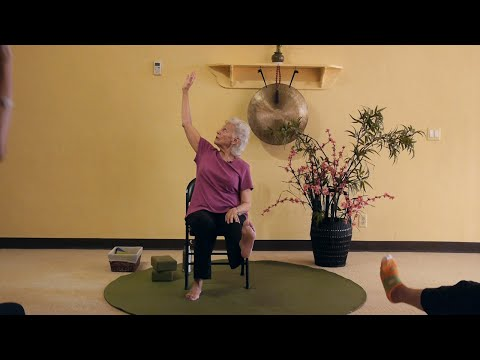 Building Brain Cells at Any Age! Chair Yoga Sequences by Paula Montalvo, RYT