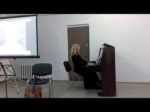 П. И. Чайковский. На тройке (Времена года).ор. 37 Bis. Исполняет Анна Ковынева