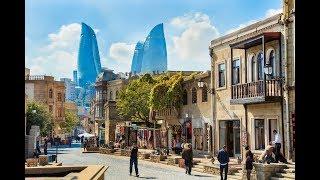 Часть 3.Баку Азербайджан. Город контрастов.2019 год.Каспийское море