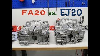 FACTS ! FA20 vs. EJ20 l Toyota GT86/Subaru BRZ Turbo Project l Part 1 l Subi-Performance
