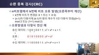 데이터통신 제14-2강 데이터통신오류검출2