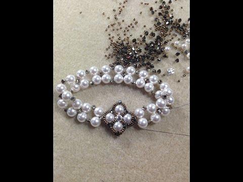 Crazy For Pearls Reversible Bracelet