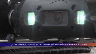 Yvelines | Les robots du GIGN et de l'armée développés par Nexter à Satory