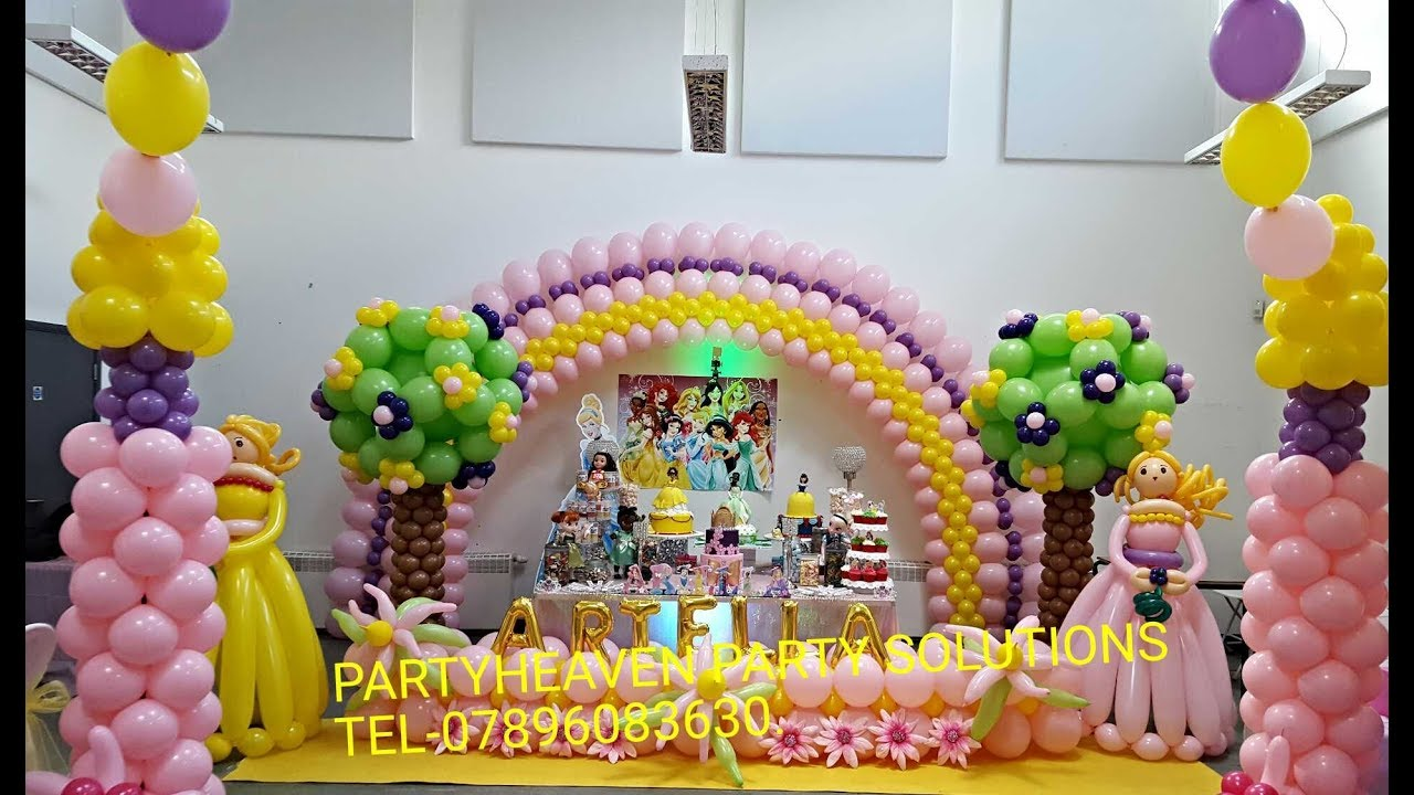 how to do a balloon arch large flat arch youtube