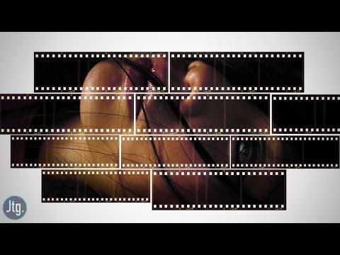 Photoshop Tutorial: Film Strip Photo Collage Portrait Effect