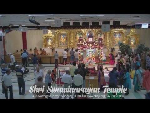 Sunday Sabha Swaminarayan Temple, Wheeling, IL 07/23/2017