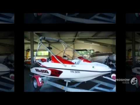 Sea-Doo Speedster 150, 215PS, Tower, weiss-rot Power boat, Sport Boat Year  - 2009