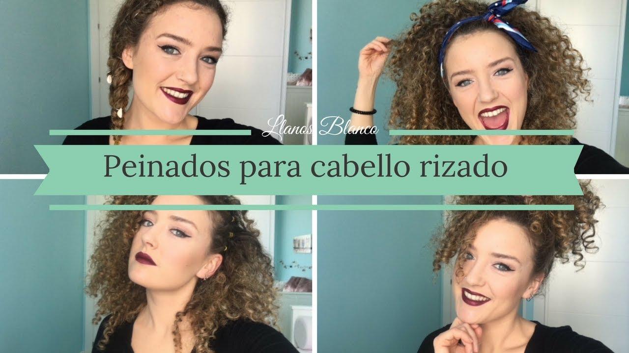 Peinados Para Cabello Rizado Los Mejores Looks Belletica Blog