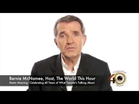 Bernie McNamee Metro Morning 40th Anniversary Bernie McNamee CBC CBC YouTube