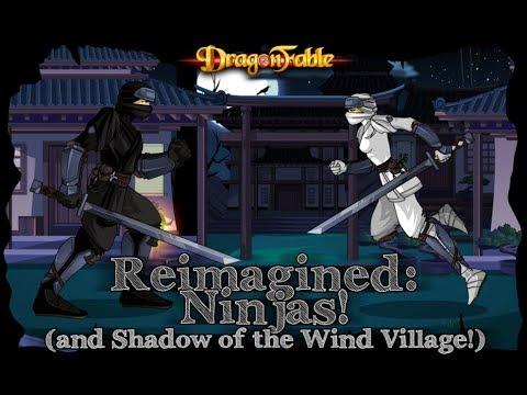 Dragon Fable Ninja Class Revamp