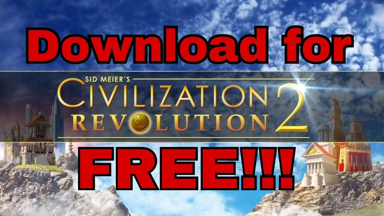 Civilization Revolution 2 download for free!!(Easy steps)