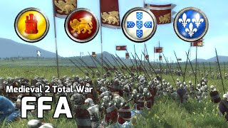 Medieval 2 Total War Online Battle #192 (FFA) -  The Hero of Portugal!