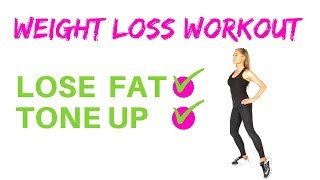 GET FIT AT HOME - WEIGHT LOSS WORKOUT - SUITABLE FOR BEGINNERS FITNESS