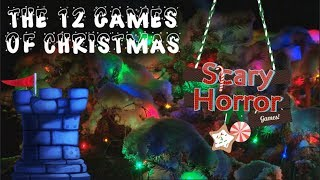 The 12 Games of Christmas: Scary Horror Games with Robert Geistlinger