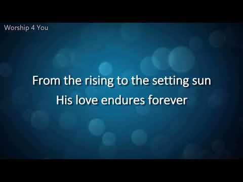Chris Tomlin Forever Lyric Video HD