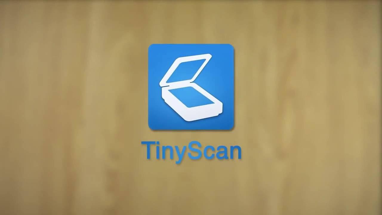 Tiny Scanner Pdf Scanner App Youtube