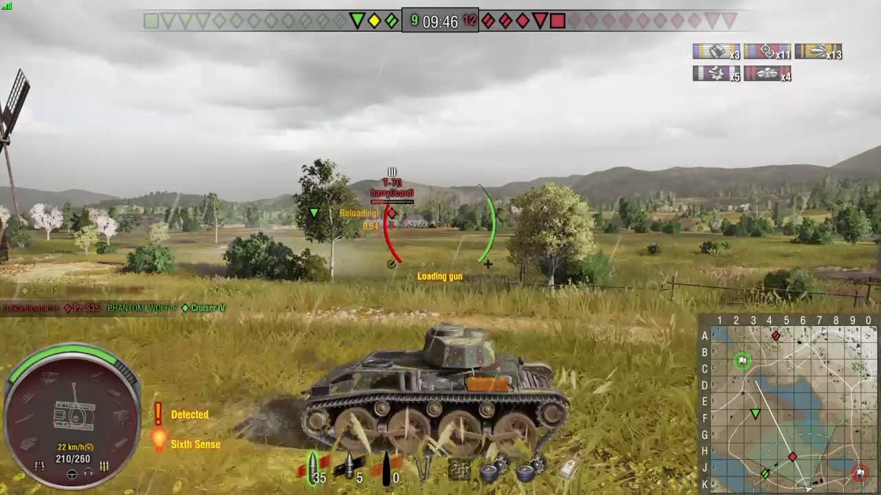 e74168bd26bfc World of Tanks german pz t 15 premium tier 3 light tank - YouTube
