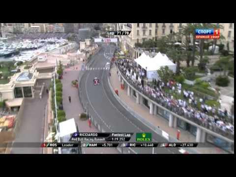 Формула 1. Гран-при Монако. 25.05.2014.Радиообмен Л.Хэмильтона.