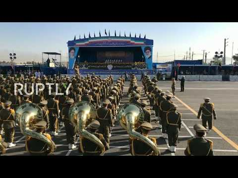 Live: Iran marks 'Sacred Defence Week' with military parade