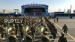 Live: Iran marks 'Sacred Defence Week' with military parade thumbnail