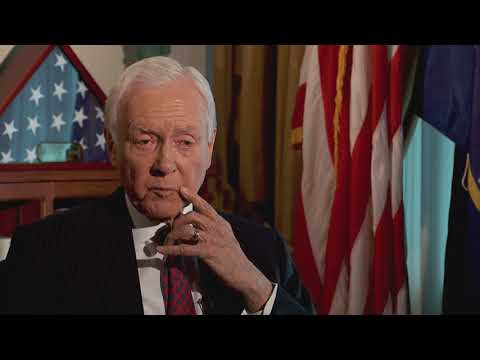 KUTV interviews Orrin Hatch about Donald Trump and the violence in Charlottesville