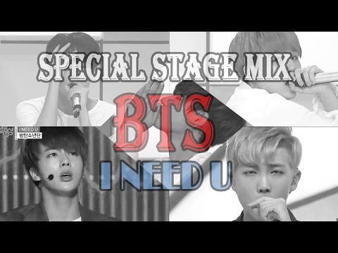 BTS - I Need U @Show Music Core Stage Mix
