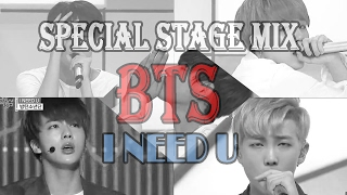 BTS - I Need U @Show Music Core Stage Mix